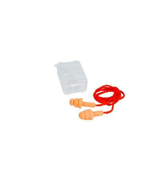 3M UltraFit Silicone Tapón c/cordón c/Caja Azul